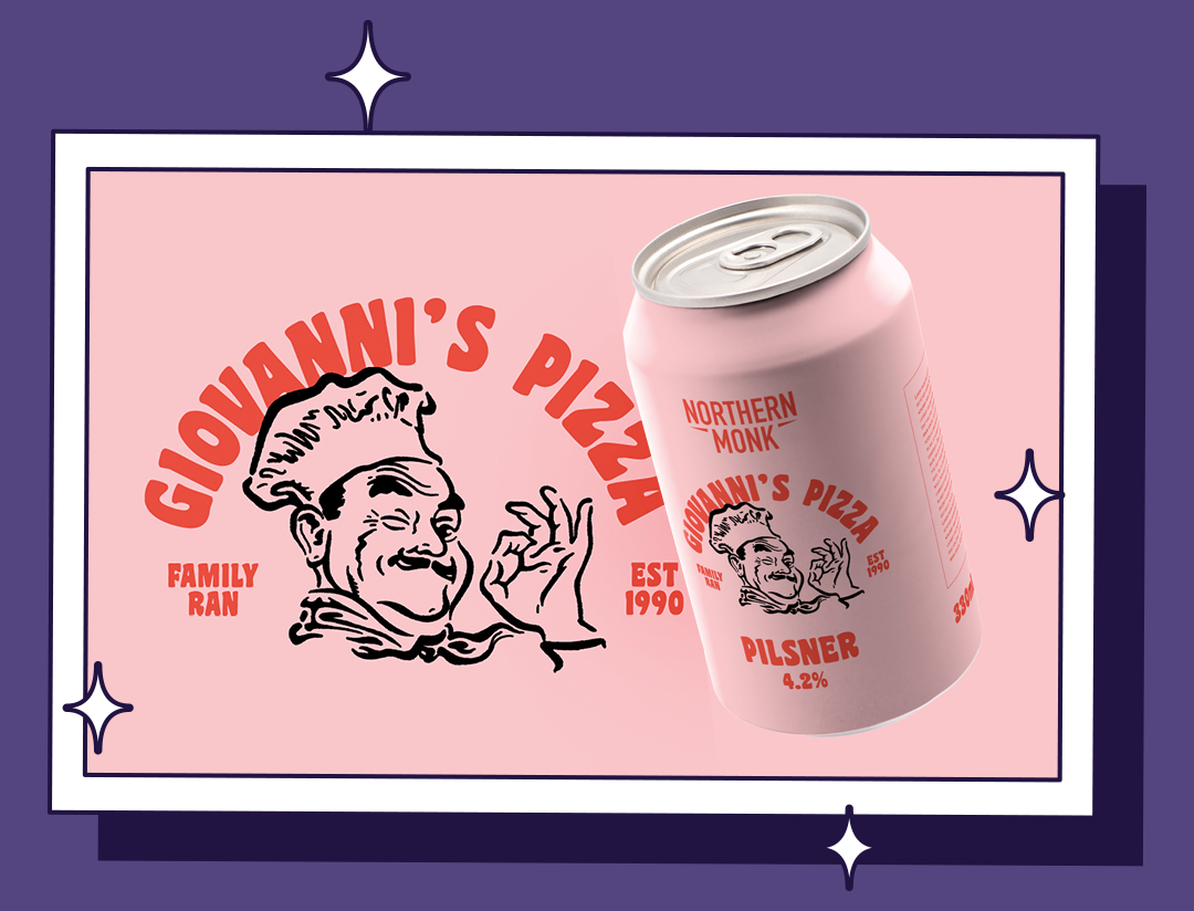 Giovanni's Pizza Branding & Packaging